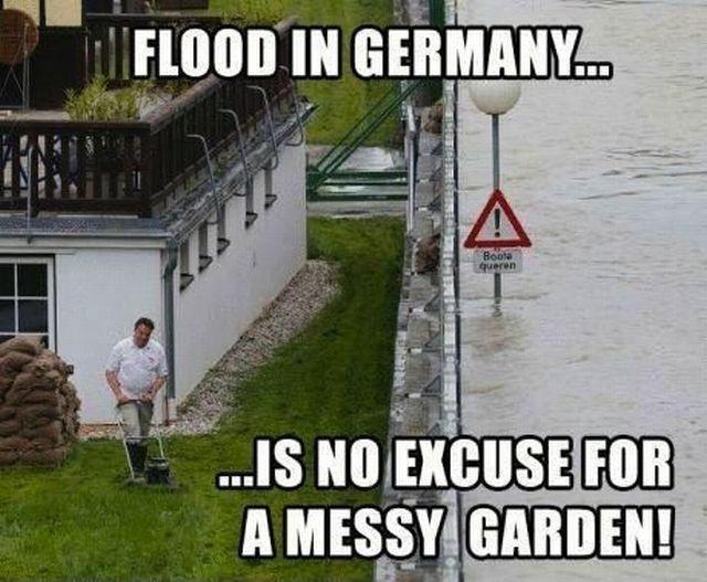 Die Flut kommt, na und?