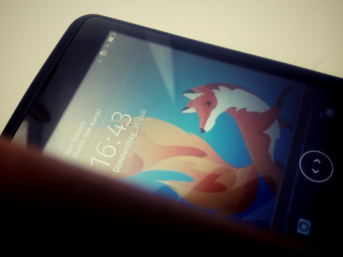 Erste Versuche mit FirefoxOS
